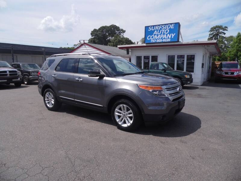 2011 Ford Explorer for sale at Surfside Auto Company in Norfolk VA