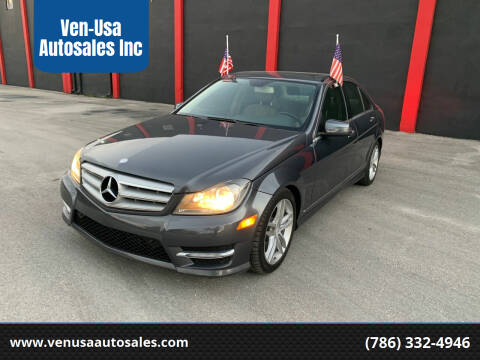 2013 Mercedes-Benz C-Class for sale at Ven-Usa Autosales Inc in Miami FL