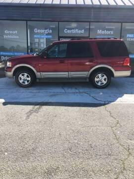 2006 Ford Expedition for sale at Georgia Certified Motors in Stockbridge GA