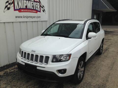 2016 Jeep Compass for sale at Team Knipmeyer in Beardstown IL