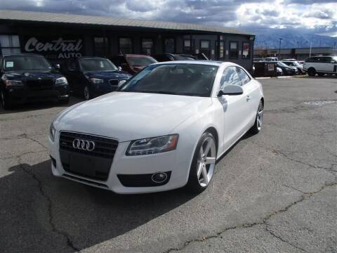 2012 Audi A5 for sale at Central Auto in South Salt Lake UT