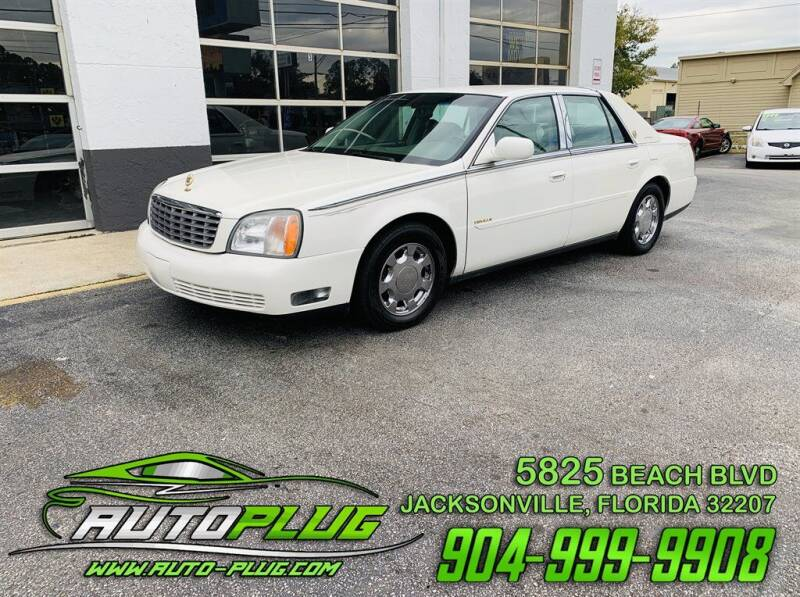 2001 Cadillac DeVille for sale at AUTO PLUG in Jacksonville FL