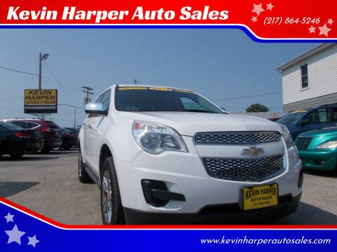 2012 Chevrolet Equinox for sale at Kevin Harper Auto Sales in Mount Zion IL