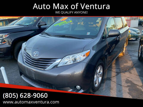 2017 Toyota Sienna for sale at Auto Max of Ventura in Ventura CA