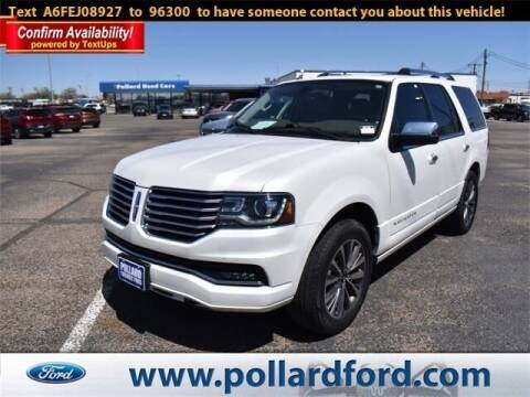 2015 Lincoln Navigator for sale at South Plains Autoplex by RANDY BUCHANAN in Lubbock TX