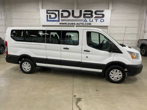 2019 Ford Transit Passenger for sale at DUBS AUTO LLC in Clearfield UT