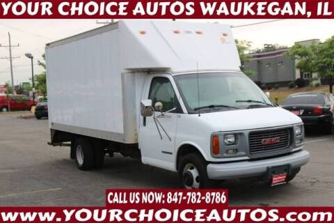 2001 GMC Savana Cutaway for sale at Your Choice Autos - Waukegan in Waukegan IL