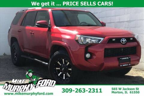 2016 Toyota 4Runner for sale at Mike Murphy Ford in Morton IL