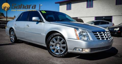 2011 Cadillac DTS for sale at Sahara Pre-Owned Center in Phoenix AZ