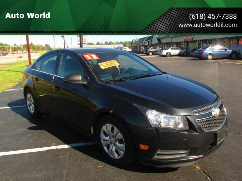 2012 Chevrolet Cruze for sale at Auto World in Carbondale IL