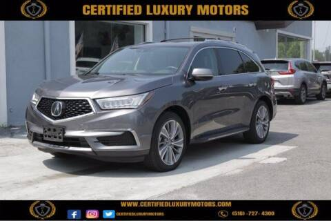 2018 Acura MDX for sale at Certified Luxury Motors in Great Neck NY