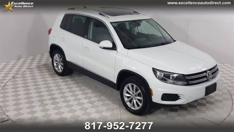 2017 Volkswagen Tiguan for sale at Excellence Auto Direct in Euless TX
