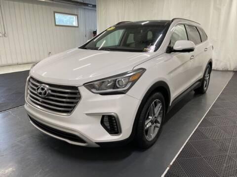 2017 Hyundai Santa Fe for sale at Monster Motors in Michigan Center MI