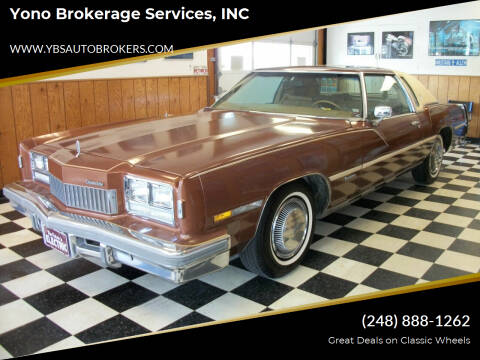 1978 Oldsmobile Toronado for sale at Yono Brokerage Services, INC in Farmington MI
