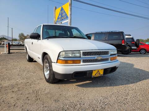 2003 Chevrolet S-10 for sale at Auto Depot in Carson City NV