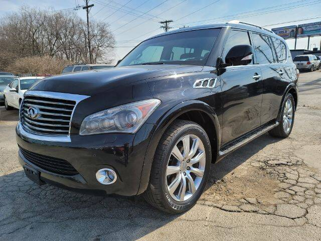 2012 Infiniti QX56 for sale at Tri City Auto Mart in Lexington KY
