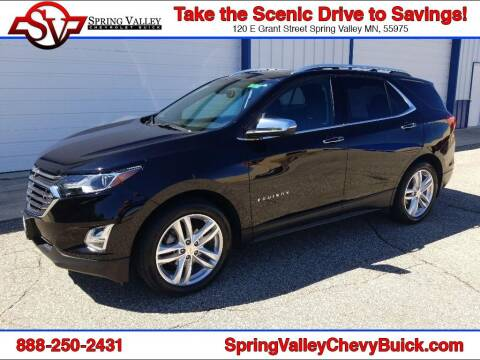2018 Chevrolet Equinox for sale at Spring Valley Chevrolet Buick in Spring Valley MN