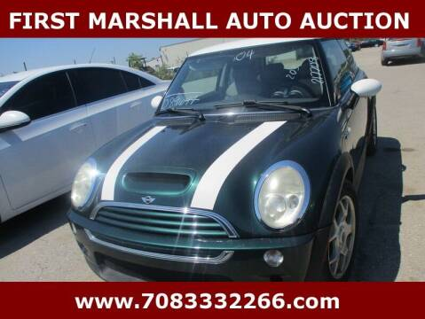 2004 MINI Cooper for sale at First Marshall Auto Auction in Harvey IL