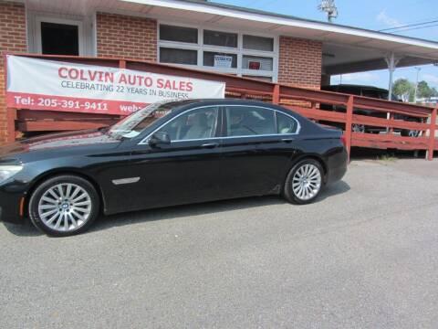 2010 BMW 7 Series for sale at Colvin Auto Sales in Tuscaloosa AL