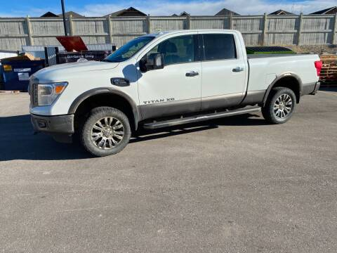 2018 Nissan Titan XD for sale at Canuck Truck in Magrath AB