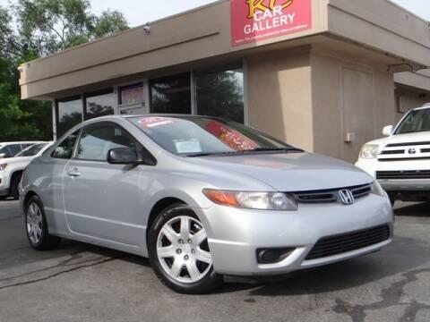 2008 Honda Civic for sale at KC Car Gallery in Kansas City KS