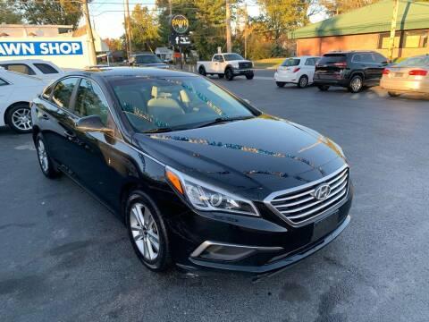 2016 Hyundai Sonata for sale at Brucken Motors in Evansville IN