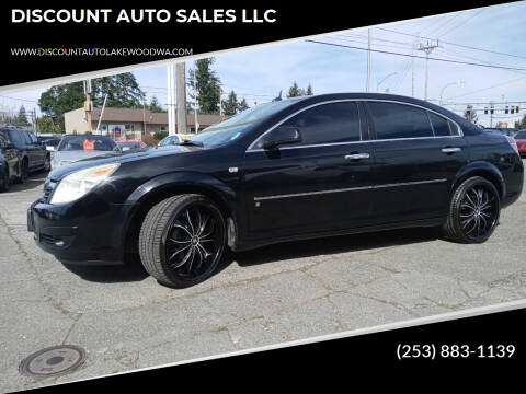2007 Saturn Aura for sale at DISCOUNT AUTO SALES LLC in Lakewood WA