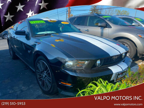 2010 Ford Mustang for sale at Valpo Motors Inc. in Valparaiso IN