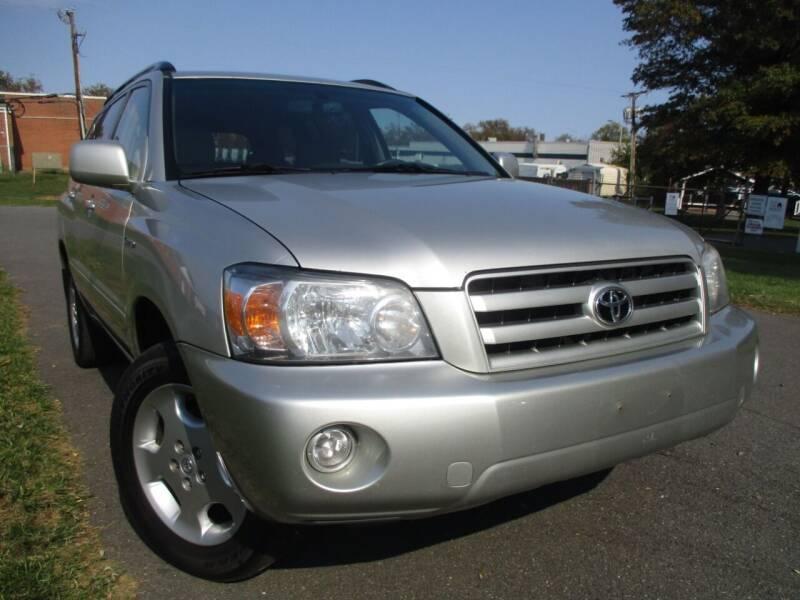 2005 Toyota Highlander for sale at A+ Motors LLC in Leesburg VA