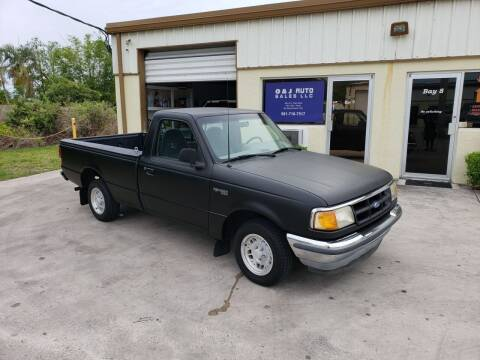1994 Ford Ranger for sale at O & J Auto Sales in Royal Palm Beach FL