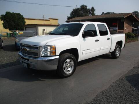 2013 Chevrolet Silverado 1500 for sale at Manzanita Car Sales in Gridley CA