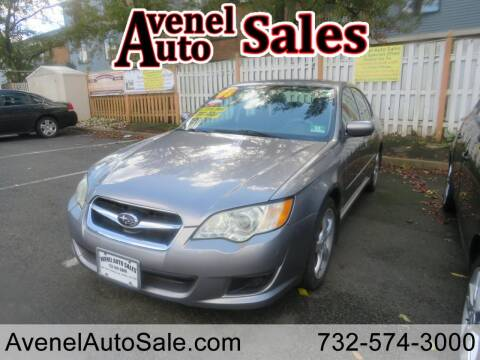 2008 Subaru Legacy for sale at Avenel Auto Sales in Avenel NJ
