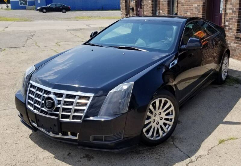 2014 Cadillac CTS for sale at SUPERIOR MOTORSPORT INC. in New Castle PA