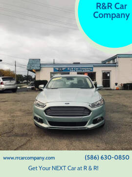 2014 Ford Fusion Hybrid for sale at R&R Car Company in Mount Clemens MI