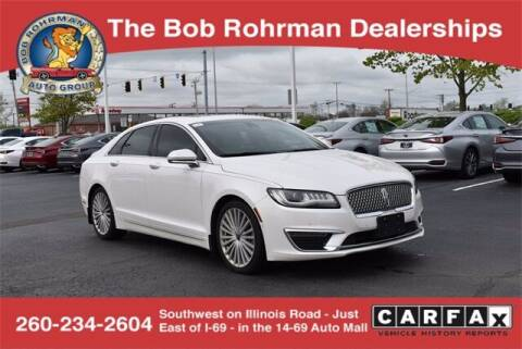 2017 Lincoln MKZ for sale at BOB ROHRMAN FORT WAYNE TOYOTA in Fort Wayne IN