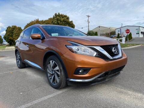 2015 Nissan Murano for sale at Sunset Auto Wholesale in Tacoma WA