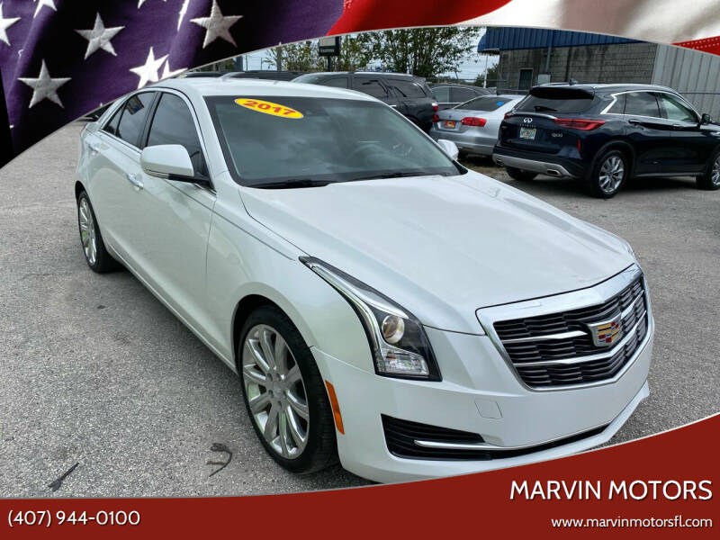 2017 Cadillac ATS for sale at Marvin Motors in Kissimmee FL