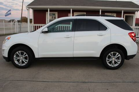 2017 Chevrolet Equinox for sale at AMT AUTO SALES LLC in Houston TX
