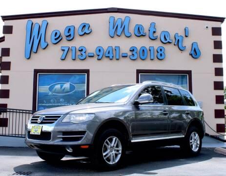 2008 Volkswagen Touareg for sale at MEGA MOTORS in South Houston TX
