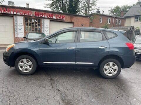 2013 Nissan Rogue for sale at HARTFORD MOTOR CAR in Hartford CT