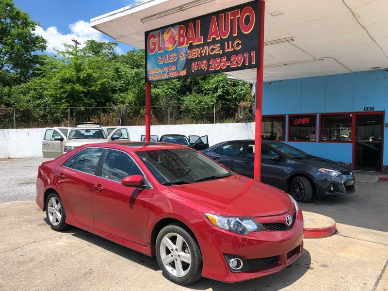 2014 Toyota Camry for sale at Global Auto Sales and Service in Nashville TN