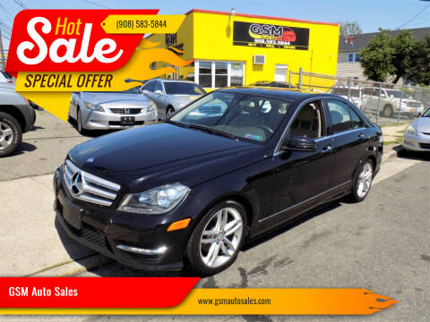 2012 Mercedes-Benz C-Class for sale at GSM Auto Sales in Linden NJ