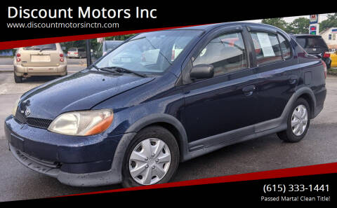 2001 Toyota ECHO for sale at Discount Motors Inc in Nashville TN