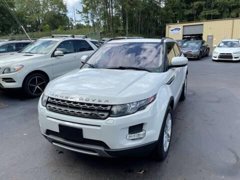 2013 Land Rover Range Rover Evoque for sale at GEORGIA AUTO DEALER, LLC in Buford GA