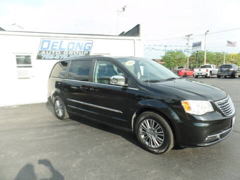 2014 Chrysler Town and Country for sale at DeLong Auto Group in Tipton IN