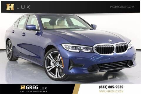 2021 BMW 3 Series for sale at HGREG LUX EXCLUSIVE MOTORCARS in Pompano Beach FL