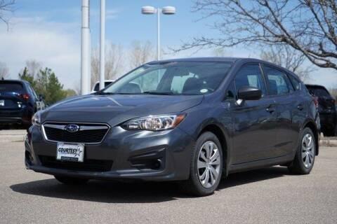 2018 Subaru Impreza for sale at COURTESY MAZDA in Longmont CO