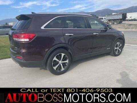 2016 Kia Sorento for sale at Auto Boss in Woods Cross UT