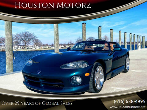 1994 Dodge Viper for sale at Houston Motorz in Nunica MI