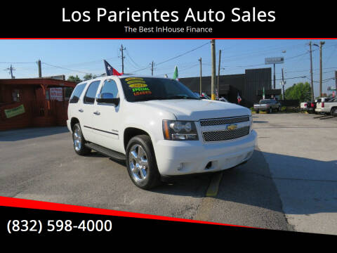 2011 Chevrolet Tahoe for sale at Los Parientes Auto Sales in Houston TX